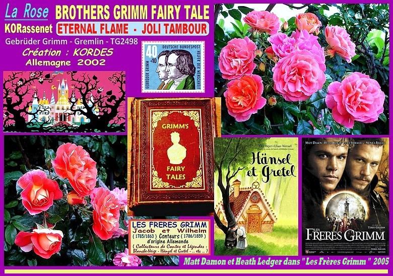 Rose brothers grimm fairy tale joli tambour korassenet eternal flame gebruder grimm kordes