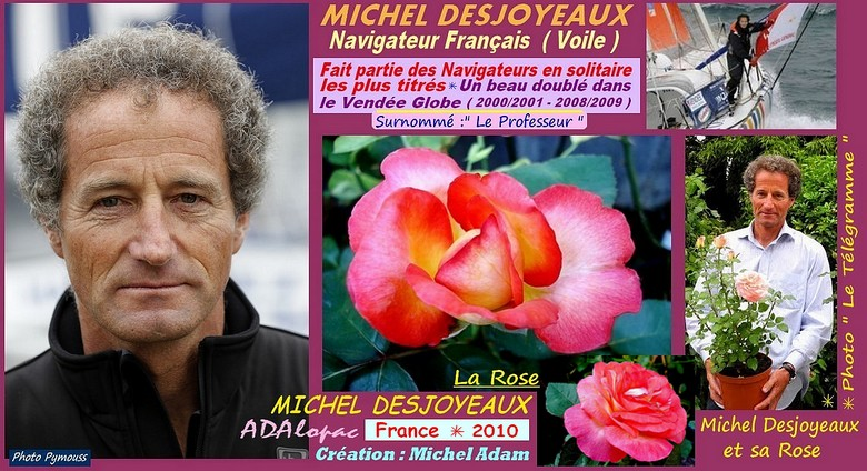 Rose michel desjoyeaux adalopac creation michel adam rosespassion