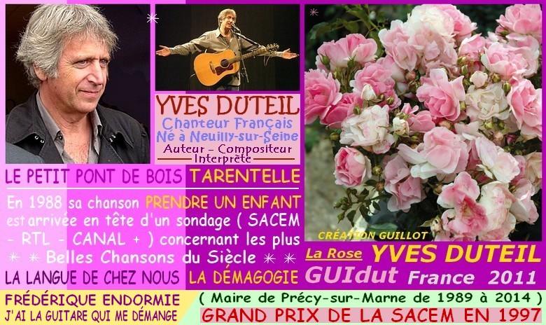 Rose yves duteil guidut guillot france 2011 roses passion