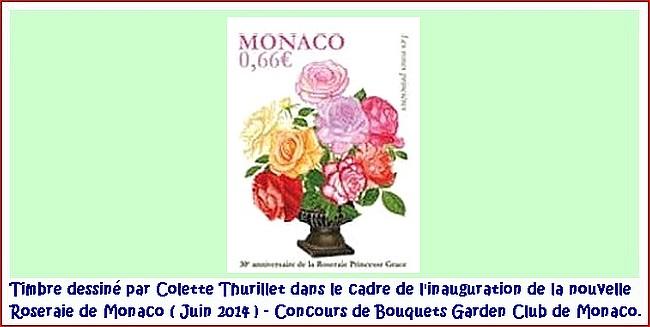 Timbre rose colette thurillet 2014 45178